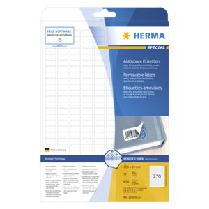 Herma Removable Labels