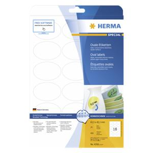 Herma Oval Labels      6