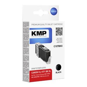 KMP C107BKX ink cartridg