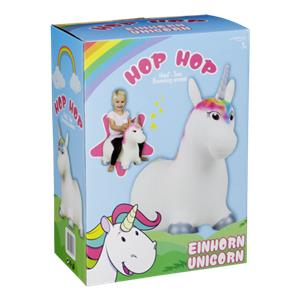 Hop Hop Unicorn Bouncing