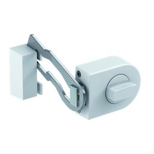 Olympia RS 50 R white Door Lock with Locking Bar