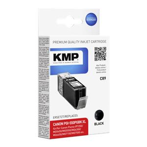 KMP C89 ink cartridge black compatible mit Canon PGI-550PGBK
