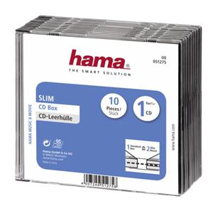 1x10 Hama CD-Slim Jewel