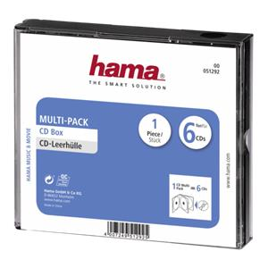 Hama CD Multi-Pack 6