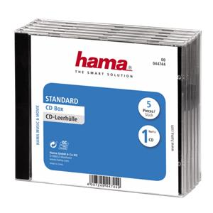 1x5 Hama CD-Box Jewel-Ca